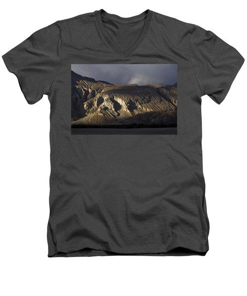 Lion's Face, Hunder, 2005 Men's V-Neck T-Shirt