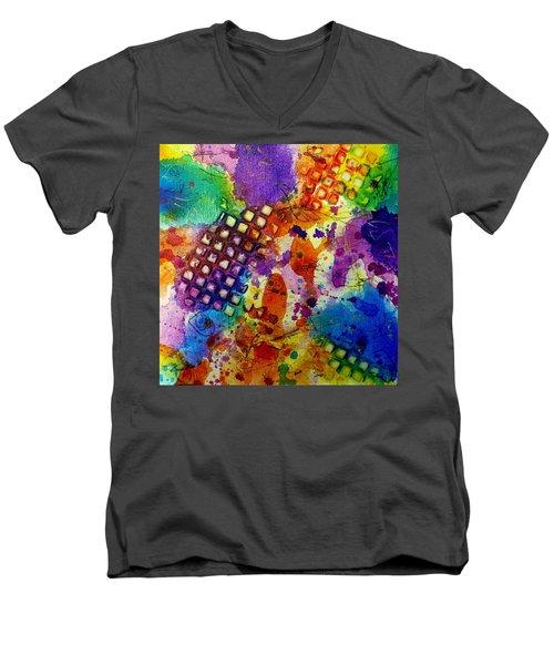 Lion For A Day Men's V-Neck T-Shirt