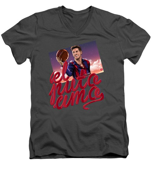 Lionel Elputoamo Men's V-Neck T-Shirt