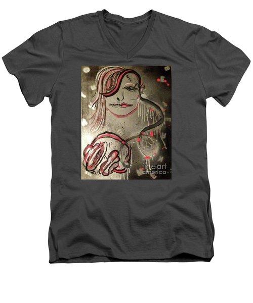 Liquid Ether Spacial Sound Men's V-Neck T-Shirt
