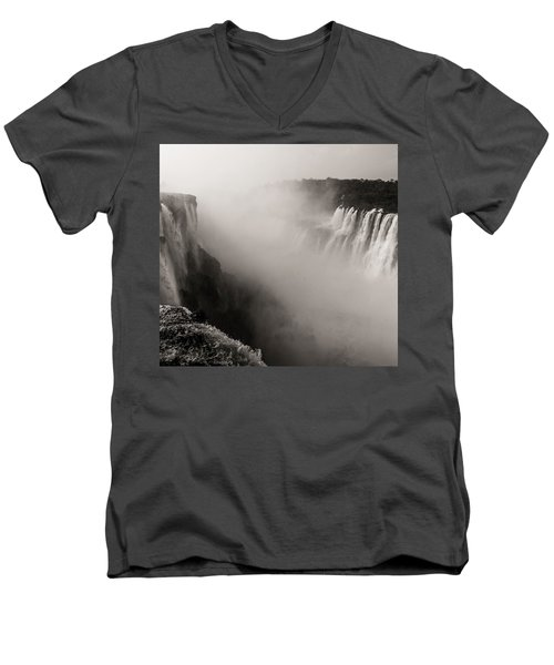 Liquid Mordor Men's V-Neck T-Shirt