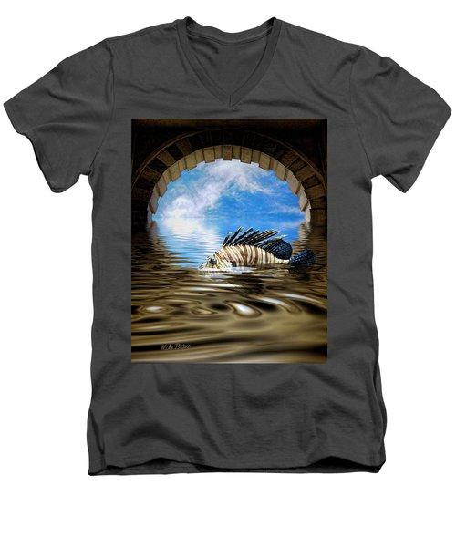Liquid Obscura Men's V-Neck T-Shirt