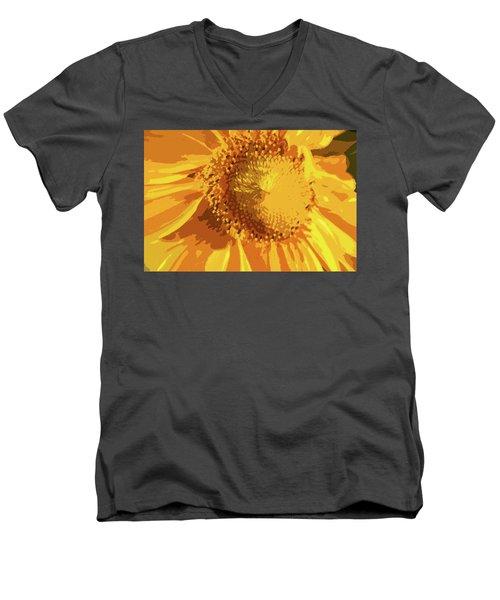 Liquid Petals -  Men's V-Neck T-Shirt