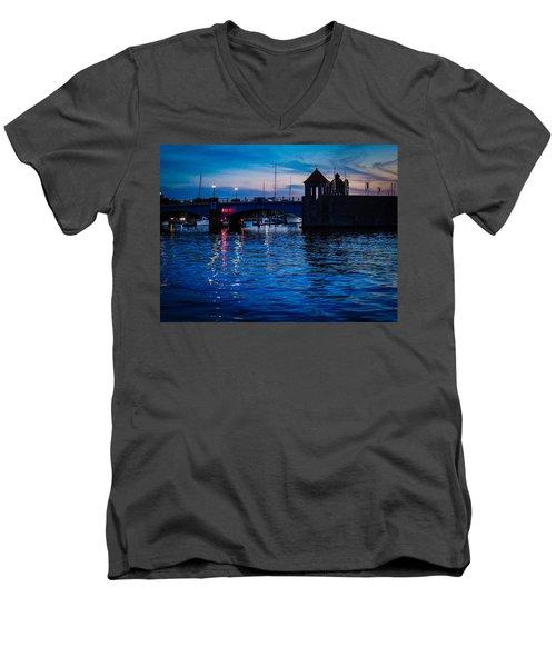 Liquid Sunset Men's V-Neck T-Shirt