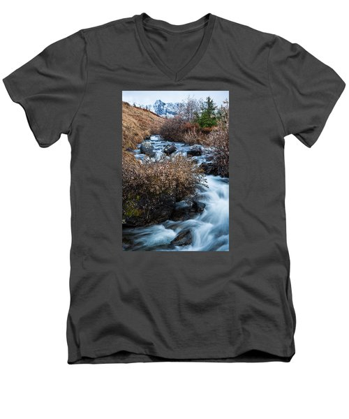 Liquid Winter Men's V-Neck T-Shirt