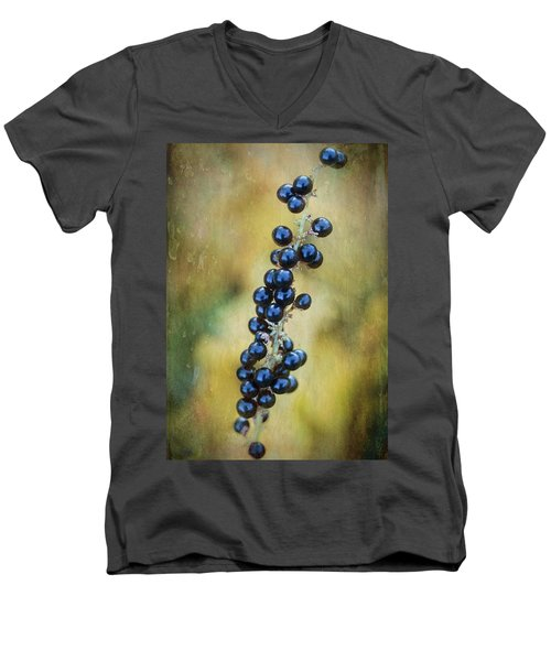 Liriope Stalk Men's V-Neck T-Shirt