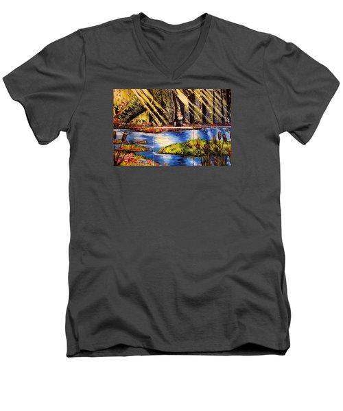 Lisas Neck Of The Woods Men's V-Neck T-Shirt