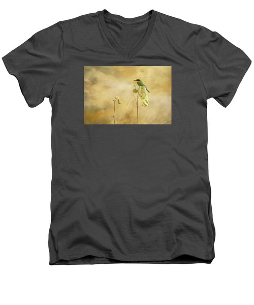 Little Bee-eater Men's V-Neck T-Shirt