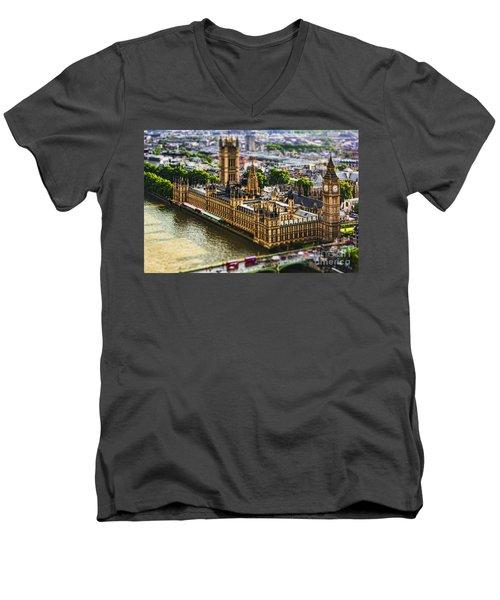 Little Ben Men's V-Neck T-Shirt