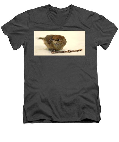 Little Bird 2 Men's V-Neck T-Shirt