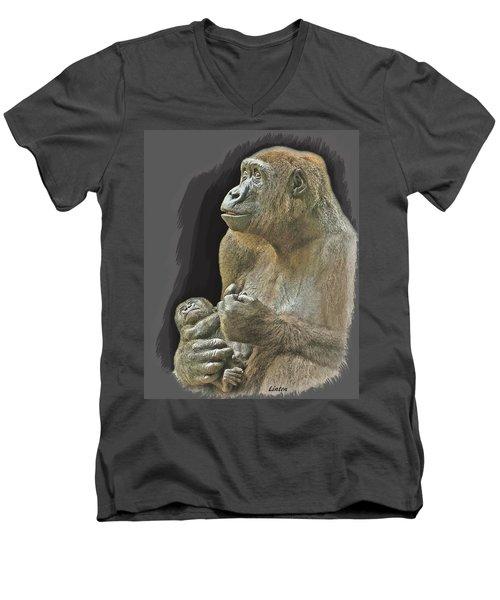 Little Blessing Men's V-Neck T-Shirt