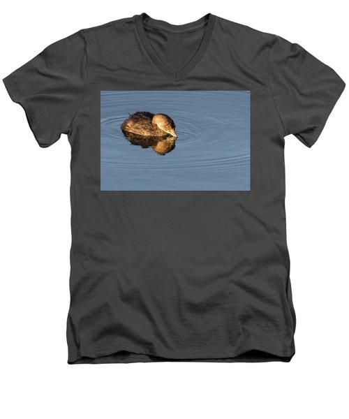 Little Brown Duck Men's V-Neck T-Shirt