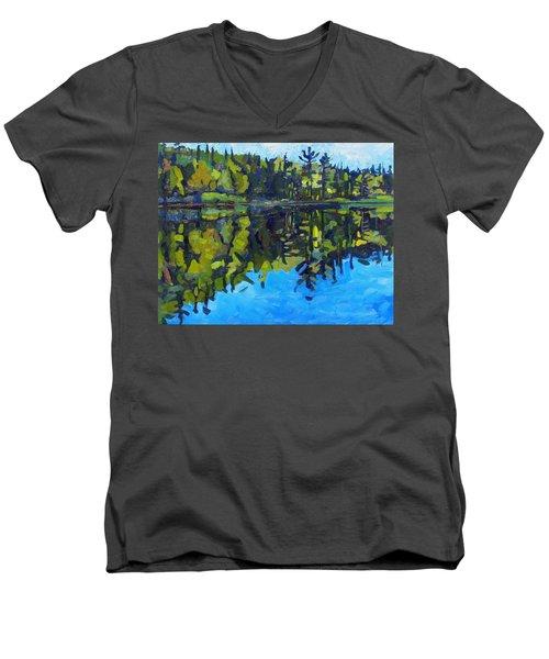 Little Clear Morning Men's V-Neck T-Shirt