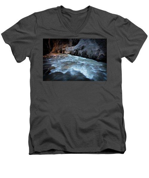 Little Creek Men's V-Neck T-Shirt