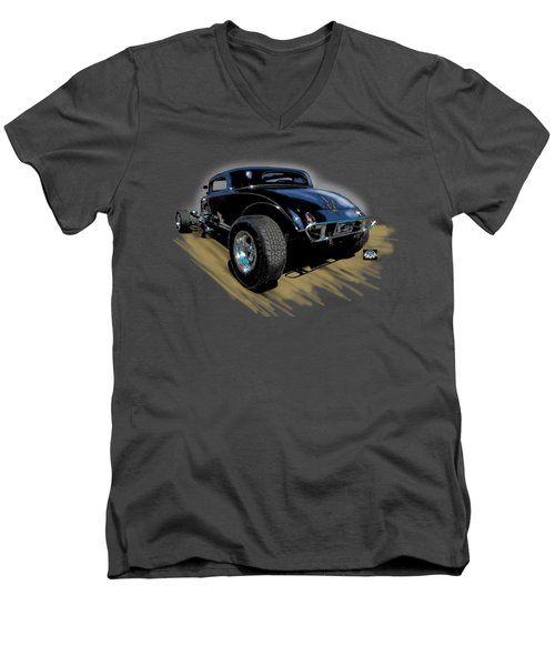 Little Deuce Coupe Men's V-Neck T-Shirt