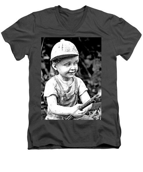 Little Fisherman Men's V-Neck T-Shirt