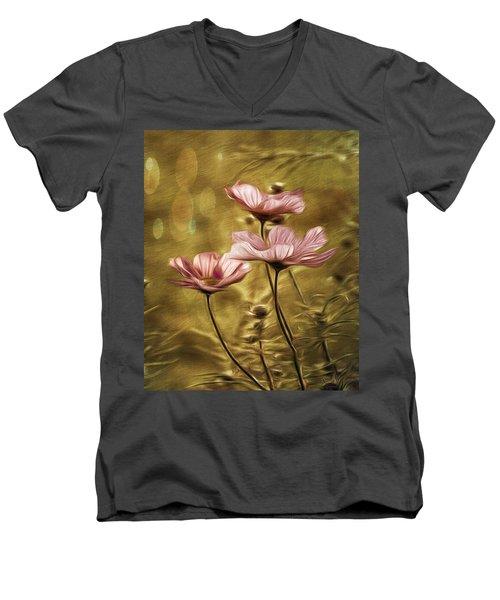 Little Flowers Men's V-Neck T-Shirt
