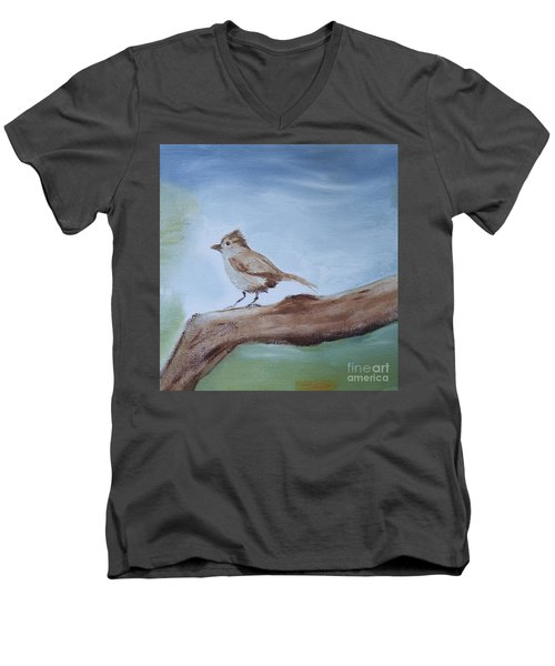 Little Friend Men's V-Neck T-Shirt