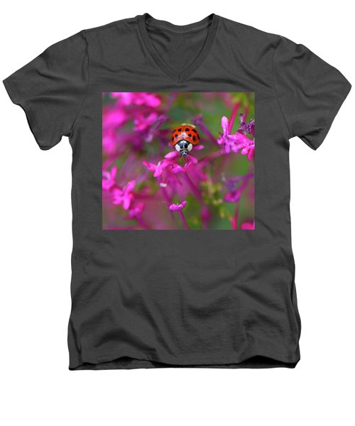 Little Lady Men's V-Neck T-Shirt