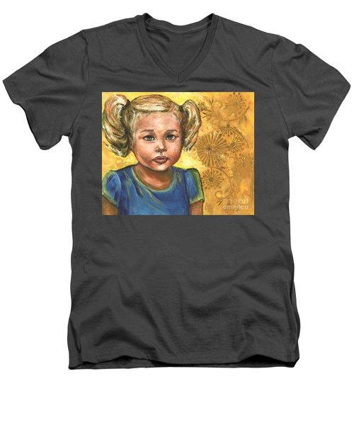 Little Miss Sunshine Men's V-Neck T-Shirt