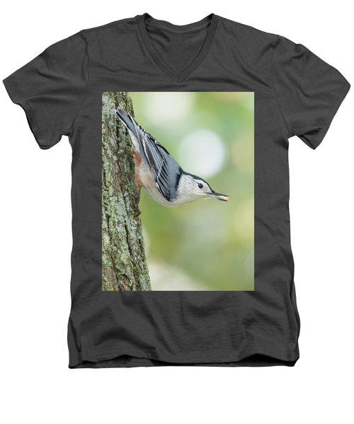 Little Nutty Bokeh Men's V-Neck T-Shirt