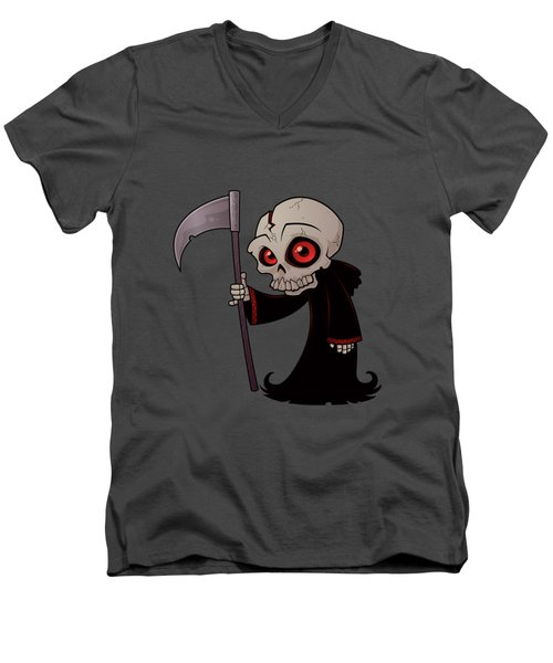 Little Reaper Men's V-Neck T-Shirt