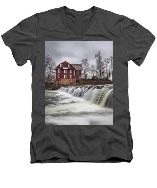 Little Red Mill Men's V-Neck T-Shirt