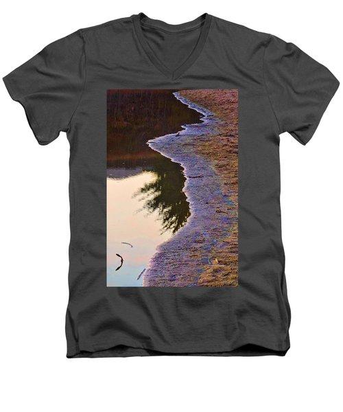 Little Shor Men's V-Neck T-Shirt