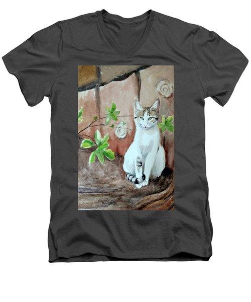 Little Singer Men's V-Neck T-Shirt