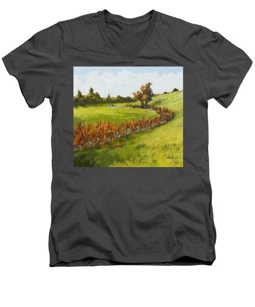 Little Stream Men's V-Neck T-Shirt