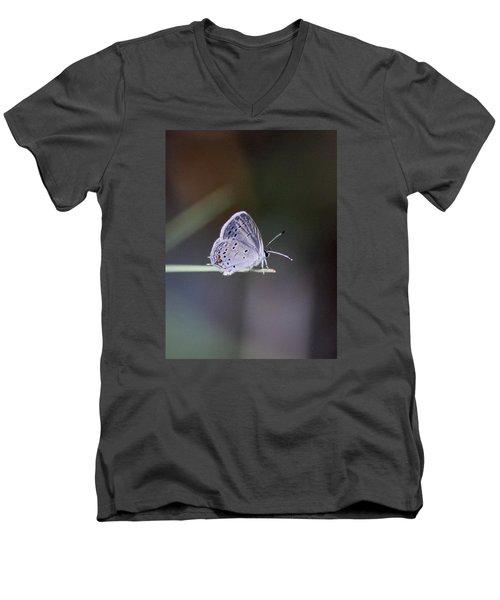 Little Teeny - Butterfly Men's V-Neck T-Shirt by Travis Truelove
