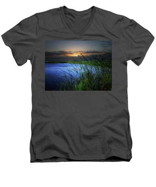 Little Waters Men's V-Neck T-Shirt