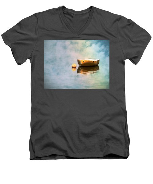 Little Yellow Boat Men's V-Neck T-Shirt
