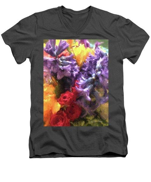 Living Color Men's V-Neck T-Shirt