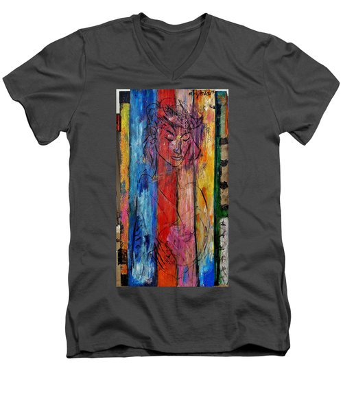 Lizbeth  Men's V-Neck T-Shirt
