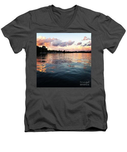 Lkn Water And Sky II Men's V-Neck T-Shirt