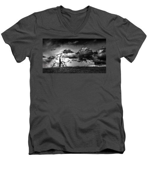 Loan Tree Men's V-Neck T-Shirt
