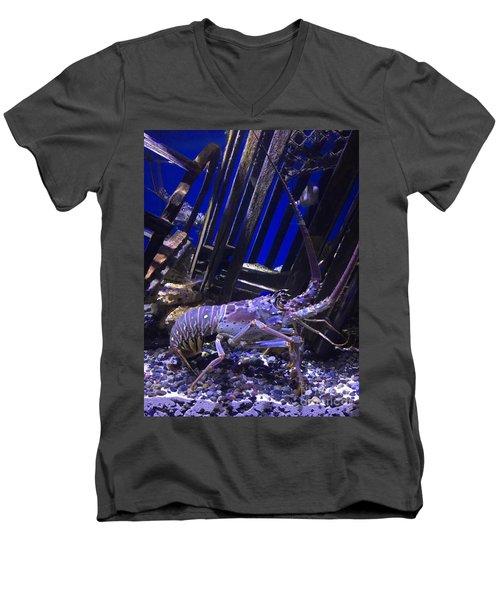 Lobster  Men's V-Neck T-Shirt