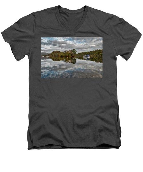 Loch Lomond At Aldochlay Men's V-Neck T-Shirt
