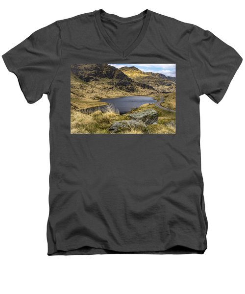 Loch Restil From Rest And Be Thankful Men's V-Neck T-Shirt