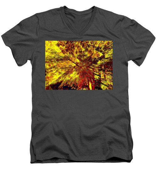 Lock 3 Men's V-Neck T-Shirt