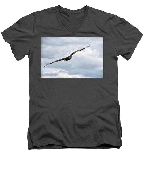 Locked On Men's V-Neck T-Shirt