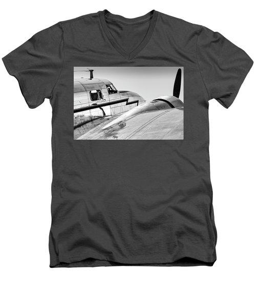 Lockheed Electra 12 Men's V-Neck T-Shirt