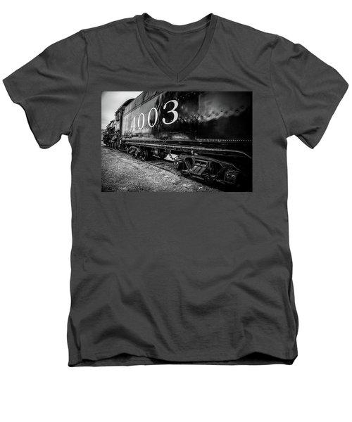 Locomotive Engine Men's V-Neck T-Shirt