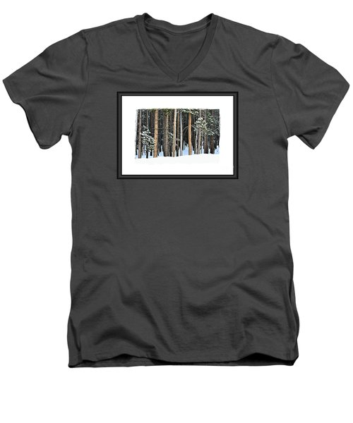 Lodge Pole Pine Men's V-Neck T-Shirt
