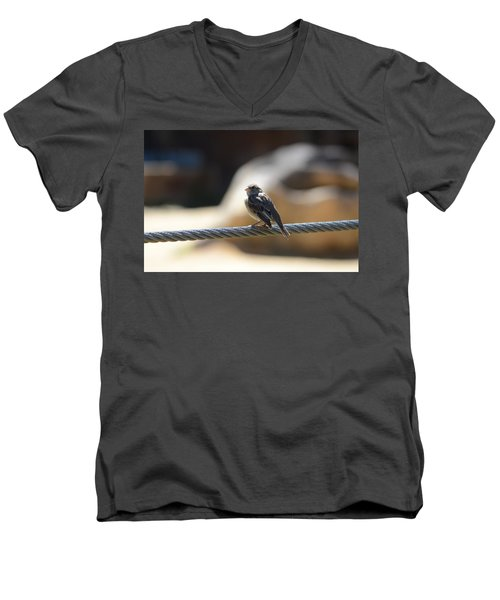 The Sentry Men's V-Neck T-Shirt