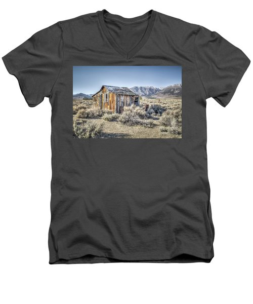 Lone Cabin Men's V-Neck T-Shirt
