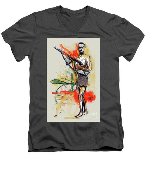 Lone Native Soldier Men's V-Neck T-Shirt
