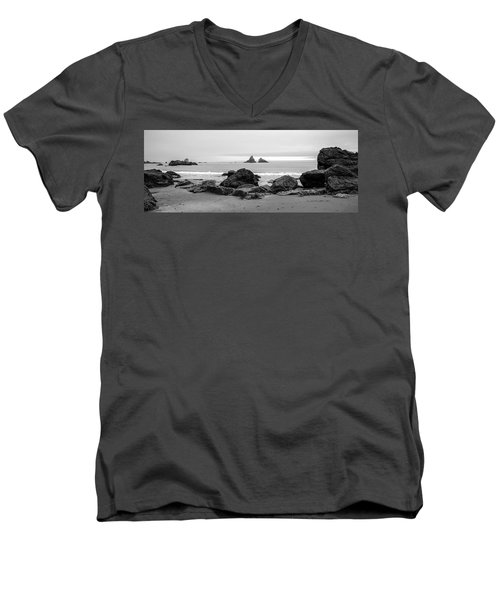 Lone Ranch Beach Men's V-Neck T-Shirt