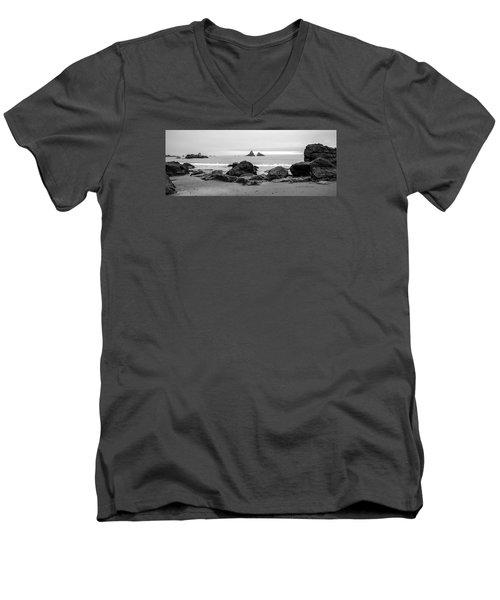 Lone Ranch Beach Men's V-Neck T-Shirt
